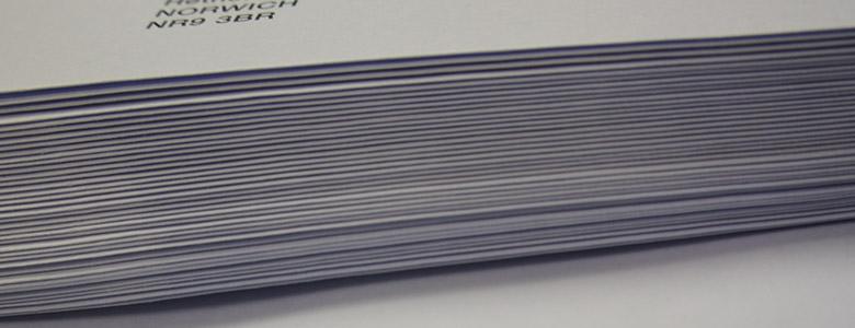 Envelope Enclosing & Inserting