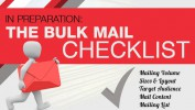In Preparation: The Bulk Mail Checklist