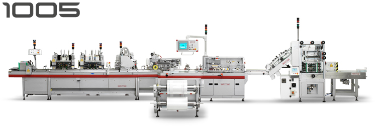 sitma 1005 polywrapping machine