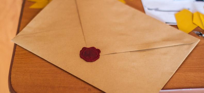Wax Envelope