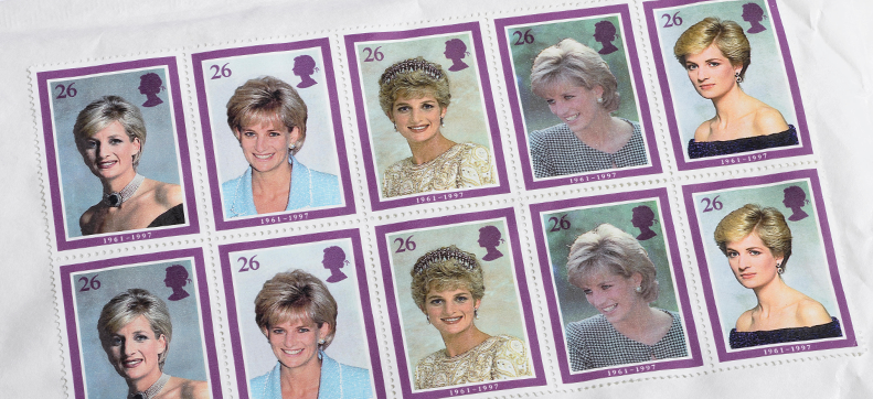 Princess Diana Commemorative Stamps