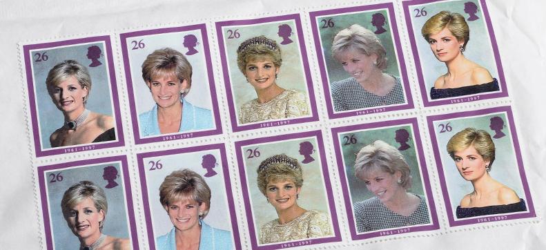 Princess Diana Commemorative Stamps