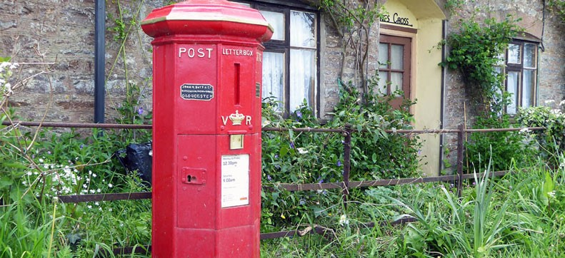 Britains Oldest Post Box